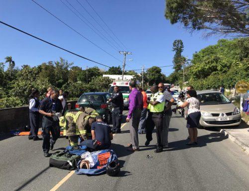 Motorcyclists hurt near Ice Queen
