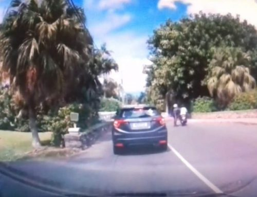 Police looking into motorbike incident video