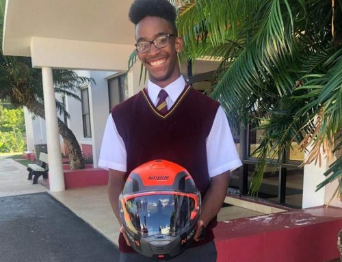 Young Achiever: Jayvyn's road safety plea