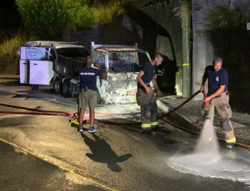 Suspicious fires destroy truck and car