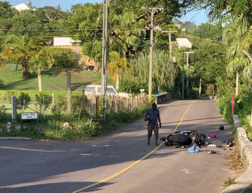 'Serious' motorbike crash in Smith's